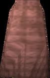 Pink robe bottoms detail