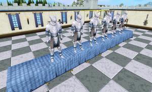Dancing knights