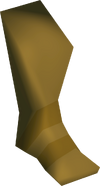 Stone left leg detail