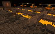 Lava Flow Mine under attack