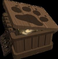 Nyriki's crate