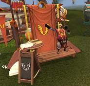 Armadyl's Tower recruiter