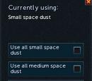 Huge space dust