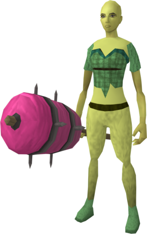 File:Candy floss maul equipped.png
