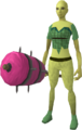 Candy floss maul equipped.png