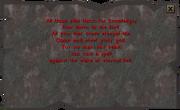 Stone Tablet (Underground Pass)