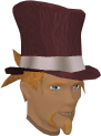 Top hat (red) chathead