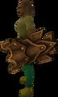 Corrupt dragon sq shield equipped