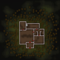 Death's mansion map