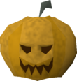 Jack lantern mask detail