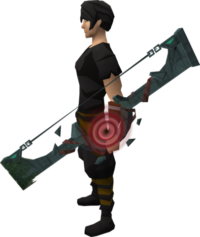 File:Slayer Tower shortbow equipped.png