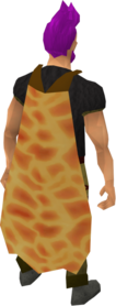 Fire cape equipped