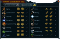 Statue collection bag interface (Golden rocks).png