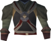 Tribal shirt (red) detail