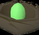 Bird's nest (green egg)