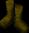 Silken boots (violet, female) detail