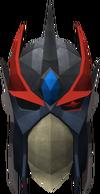 Full slayer helmet (red) detail