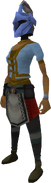 Rune heraldic helm (Asgarnia) equipped