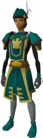War-chief clothing set (female) equipped