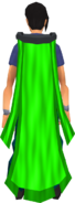 Battlefield cape (neutral) equipped