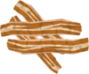 Bacon pile detail