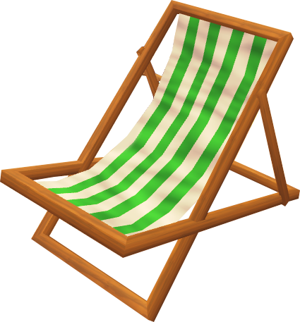 File:Deck chair (green).png