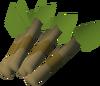 Trading sticks detail