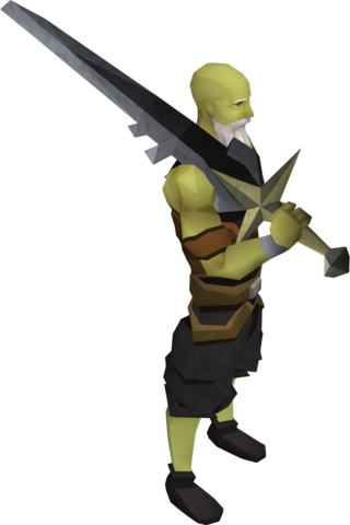 File:Lucky Saradomin sword equipped.png