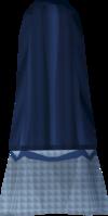 Colonist's skirt (blue) detail