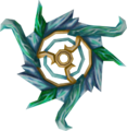 Off-hand attuned crystal chakram detail.png
