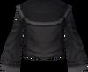 Black robe (top) detail