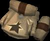 Megaleather torn bag detail