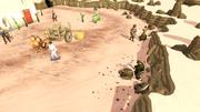 Desert Mining Camp entrance