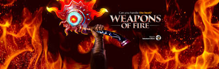 Weapons of Fire head banner