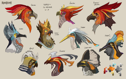 Aviansie head concept art