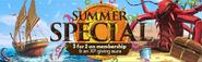 Summer Special 2016 lobby banner
