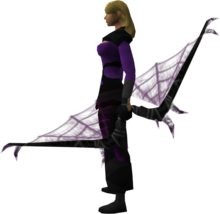 Noxious longbow (shadow) equipped