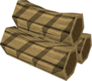 Special teak log