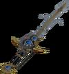 Augmented Saradomin godsword detail