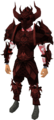 Malevolent armour set (blood) equipped.png