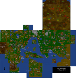 RSC World map