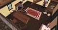 Destroying Unferth's furniture.png