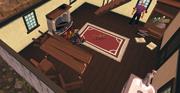 Destroying Unferth's furniture