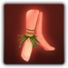 Bare feet icon (female)