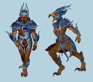 Griffin outfit concept art