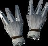 Werewolf claws (white, male) detail