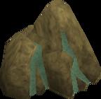 Adamantite ore rock old