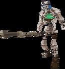 Skeleton warlock