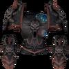 Augmented malevolent cuirass detail