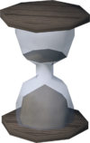 Hourglass detail